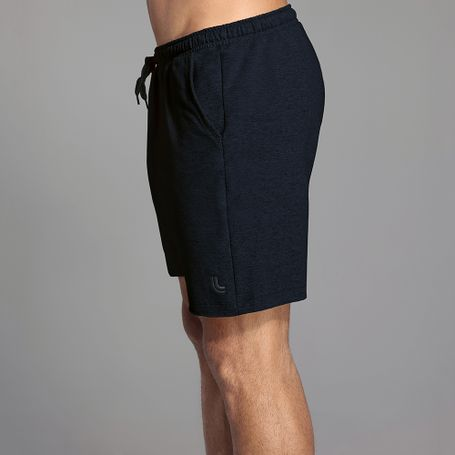SHORT-LUPO-AM-MOLETOM-M-9760-PRETO-MESCLA