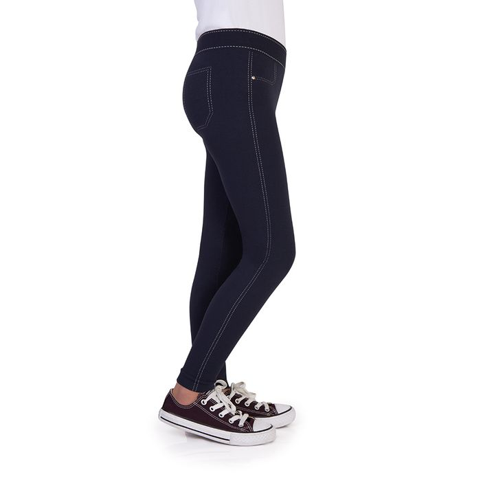 02dec0d1d Meia Calça Lobinha Legging Jeans - Fio 150 (Infantil) - Lupo