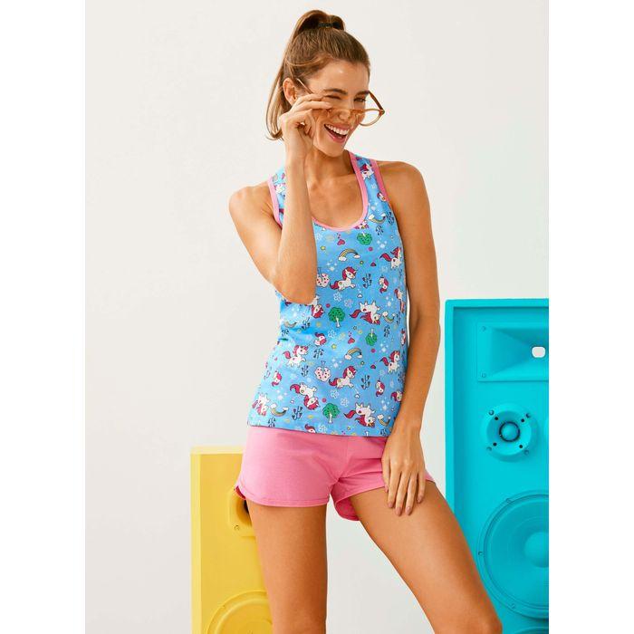 192ad107d Pijama Urban Unicórnio Short Doll (Adulto) - Lupo