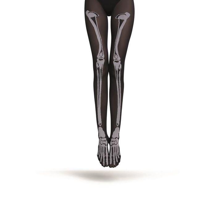 8d4f2bb9d Meia - Calça Loba Esqueleto (Adulto) - Tamanho  U