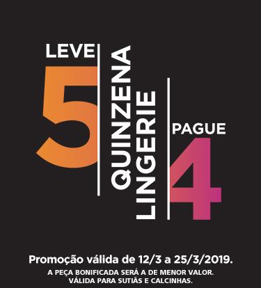 Quinzena da Lingerie 2019